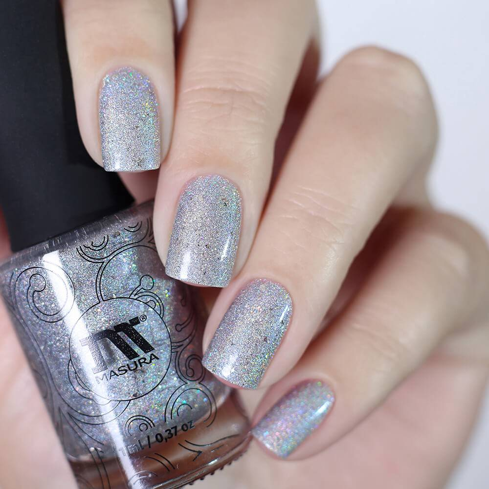 "Nail polish ""BruXsa's Silver Voice"", 3,5 ml"