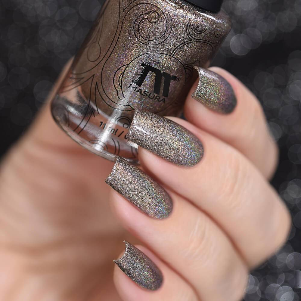 "Nail polish ""Foggy Morning Coffee"", 3,5 ml"