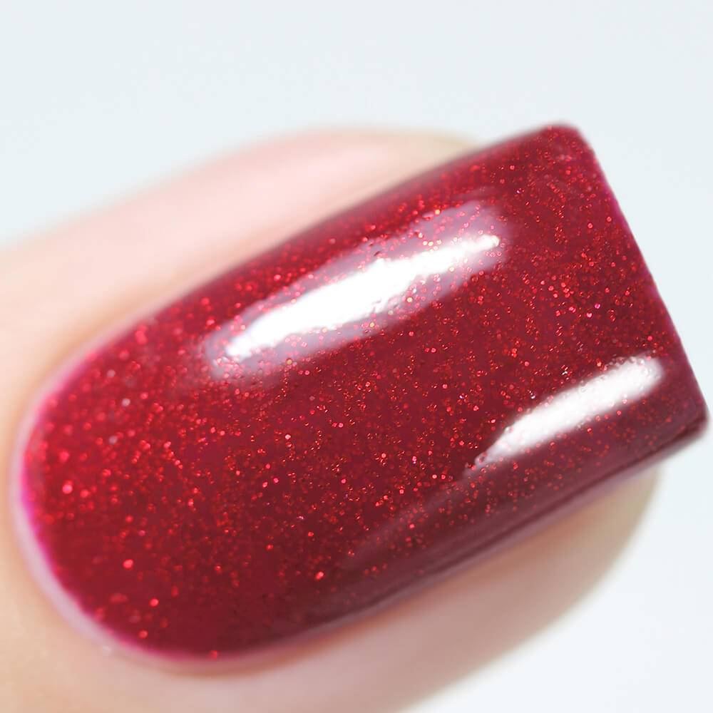 "Gel polish BASIC ""Sparks of Bordeaux"", 3,5 ml"