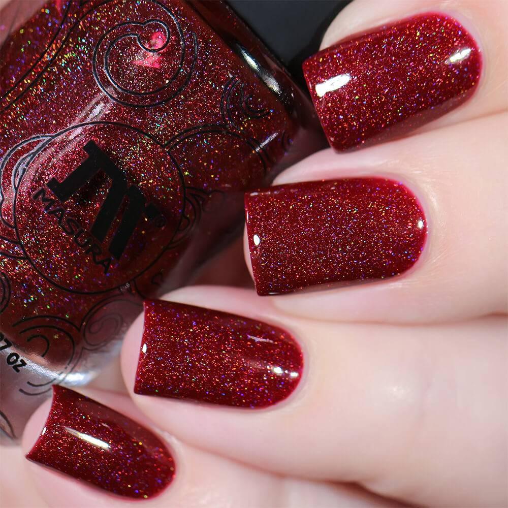 """Nail Polish """"The Walking Red"""", 3,5 Ml"""