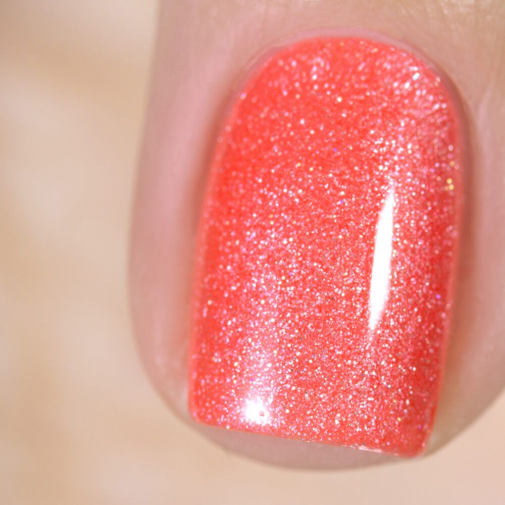 Gel polish BASIC Holographic Coral, 3,5 ml