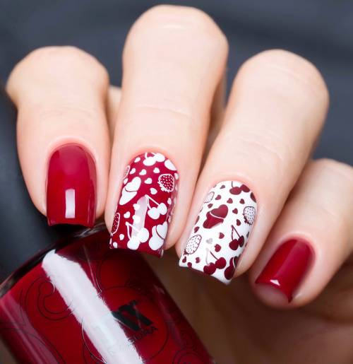 "Nail polish ""My Piece of Pie is the One With Cherry"", 11 ml"