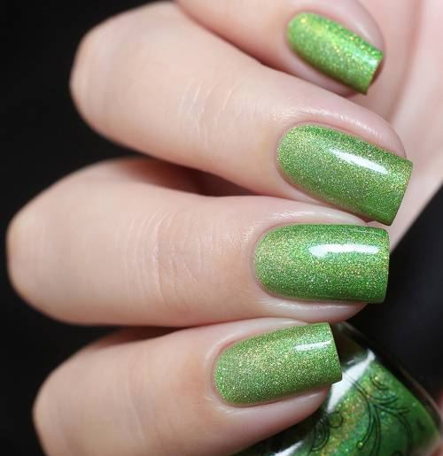 "Nail polish ""Lime Fountain"", 11 ml"