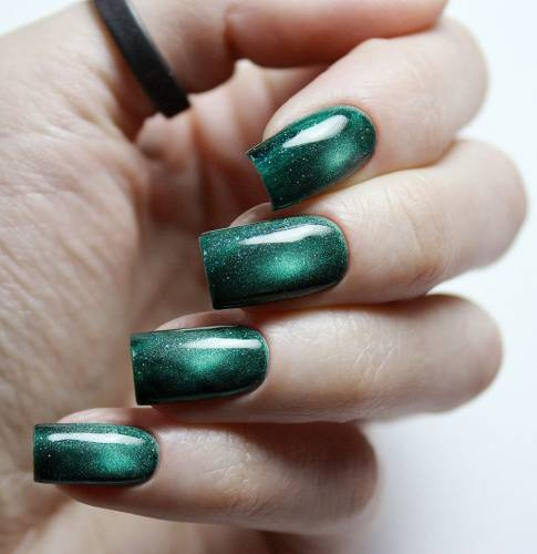 "Gel polish ""Emerald Constellation"", 3,5 ml"