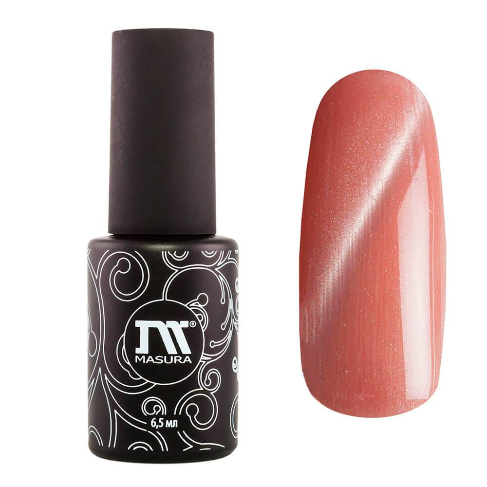 "Gel polish MASURA ""Tonal Nude Cat Eye"", 6,5 ml"