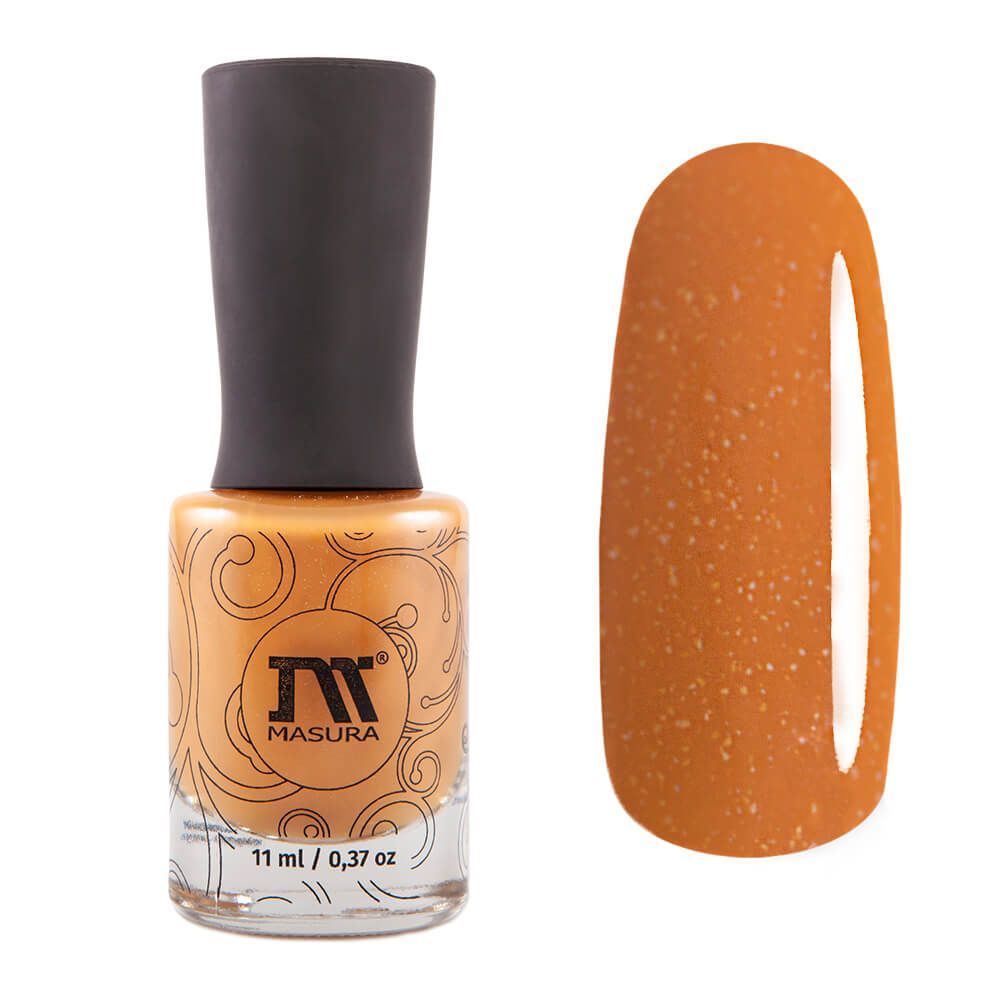 Nail polish Dark Cheddar, 11 ml