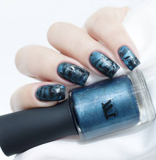 Nail polish 'Mountain Azurite', 3.5 ml