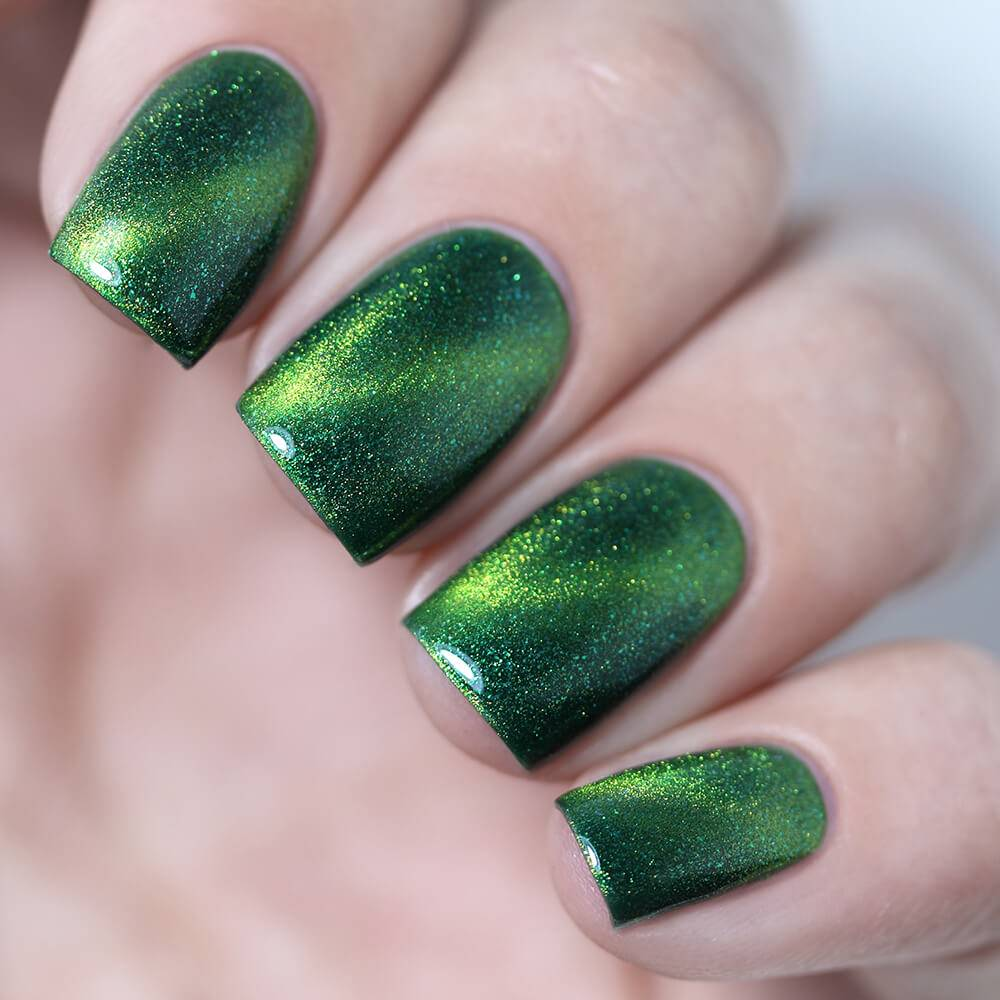 "Nail polish ""Emerald Cat"", 3,5 ml"
