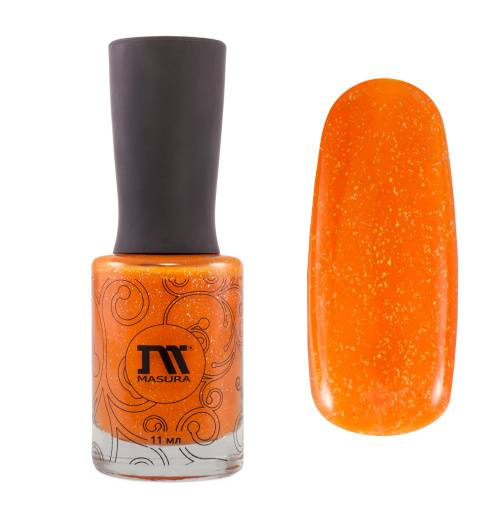 "Nail polish ""Orange Fresh"", 11 ml"