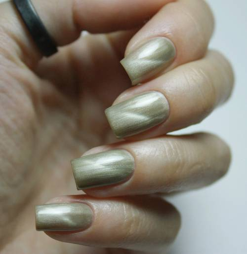 "Gel polish ""Taupe Cat Eye"", 3,5 ml"