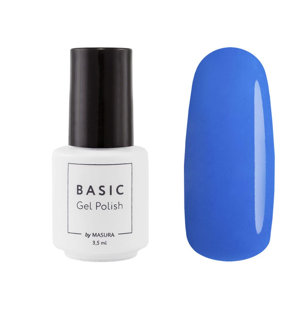 One-step gel polish BASIC Deep Deep Blue, 3,5 ml