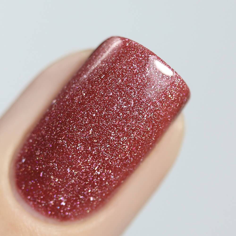 Nail polish Holographic Garnet, 11 ml