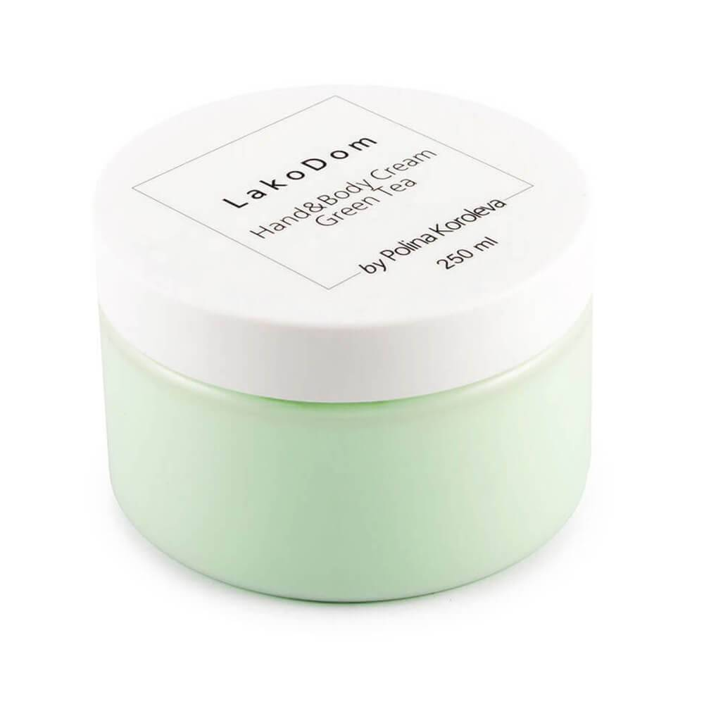 "Nourishing cream for hands and body ""GREEN TEA"", 250ml"