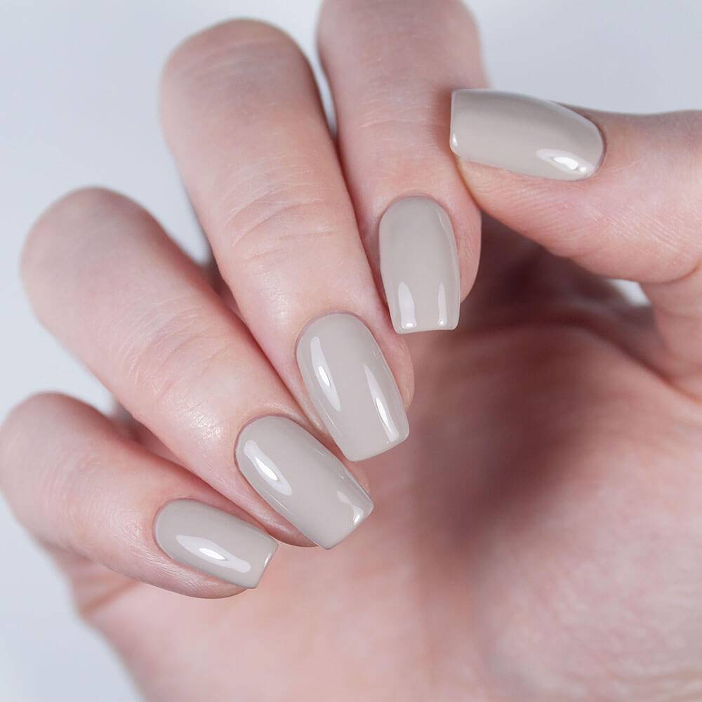 "Gel polish BASIC ""Coffee Cream"", 3,5 ml"