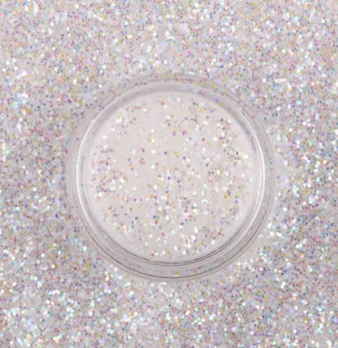 "Glitter for nail design ""Holographic Snow"", 2 gr"