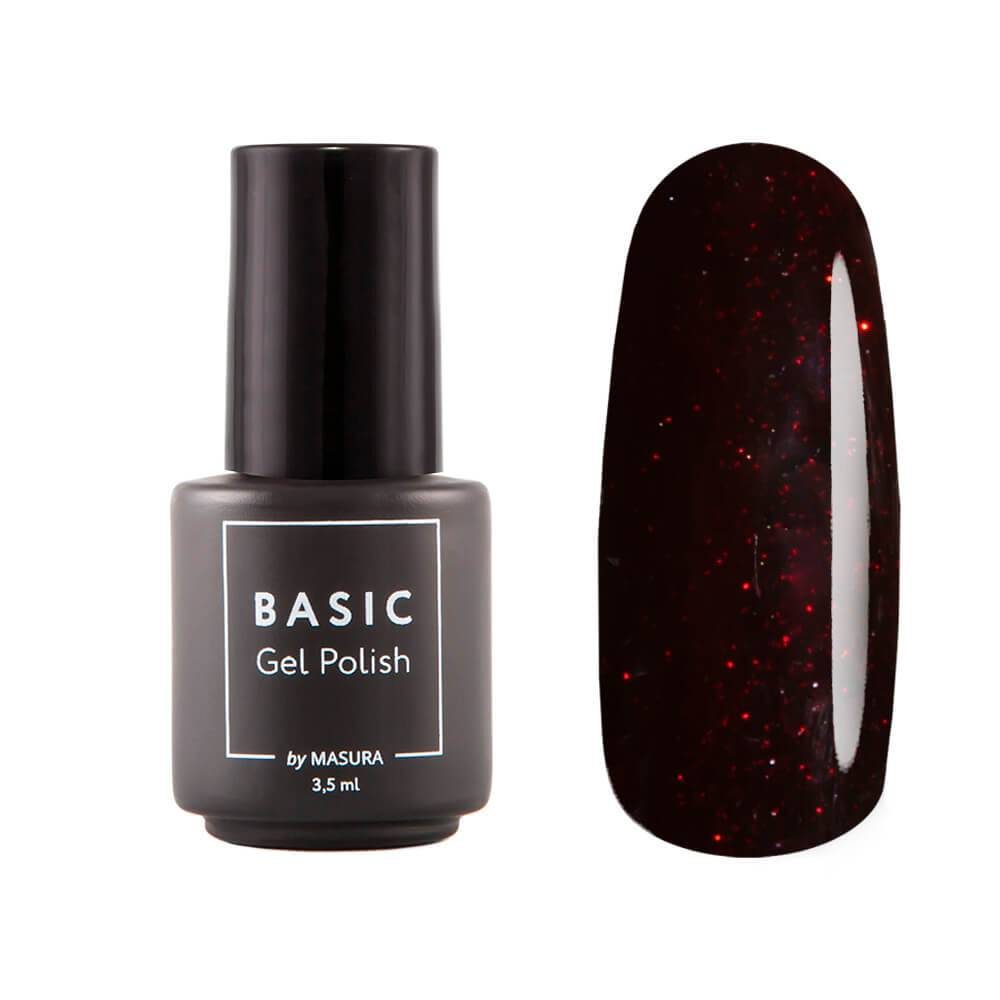 Gel polish BASIC Bordeaux Rose, 3,5 ml