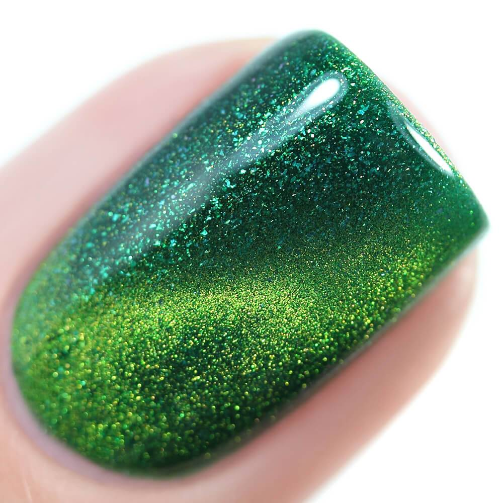 "Nail polish ""Emerald Cat"", 11 ml"