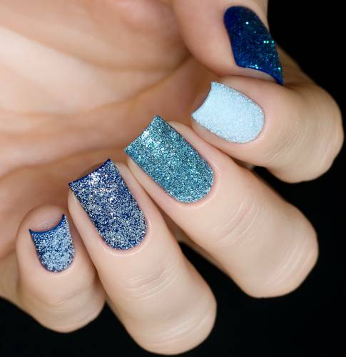 "Glitter for nail design ""Snow Dust"", 2 gr"