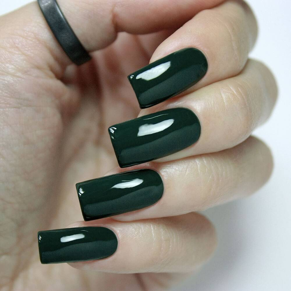 "Gel polish BASIC ""Dark Jade"", 3,5 ml"