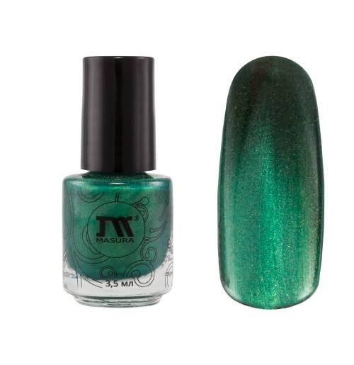 "Nail polish ""Emerald Sari"", 3,5 ml."