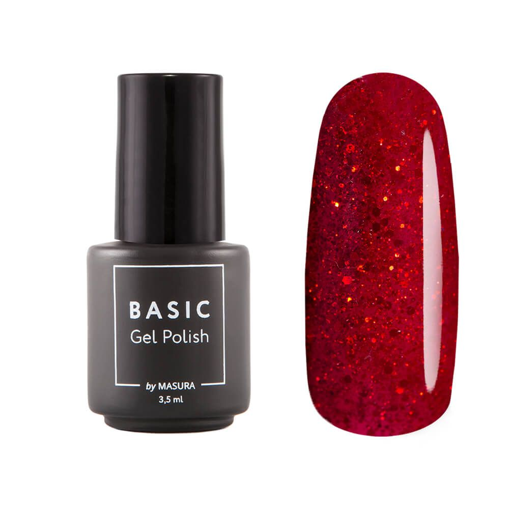 Gel polish BASIC Trendy Scarlet, 3,5 ml