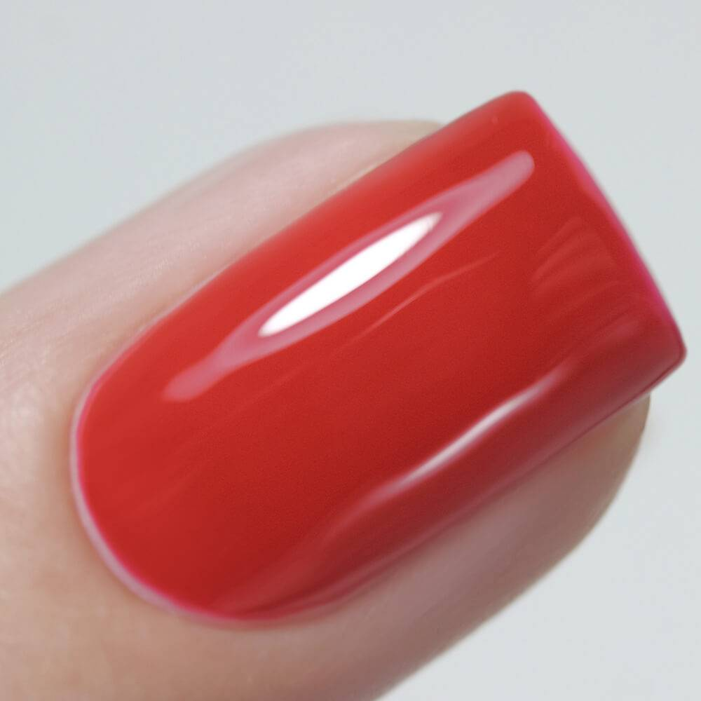 "Gel polish BASIC ""Red Kimono"", 3,5 ml"
