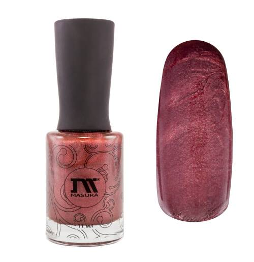 "Nail polish ""Shining Garnet"", 11 ml."